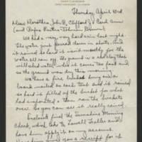 John N. Calhoun  family letters, August 1941-February 1946