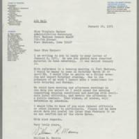 1971-01-29 William R. Morris to Miss Virginia Harper