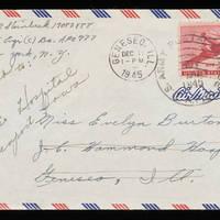 1945-11-17 Carroll Steinbeck to Evelyn Burton - Envelope