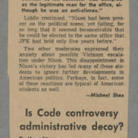 1968-12-10 Article: 'SDS Plans Rally Prior to Hearing By CSC for Sies' Page 2