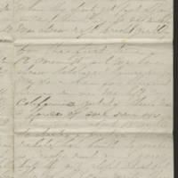 1863-02-14 Charles A. Gates to Mr. Arad Gates Page 3