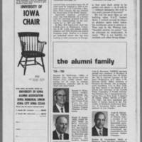 "1970-06 Iowa Alumni Review """"At the U of I and over the nation May was a time of Student Protest"""" Page 8"