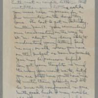 1943-01-19 Laura Davis to Lloyd Davis Page 2