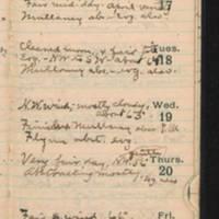 1921-10-16 -- 1921-10-22