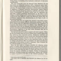"""Iowa Law Review, """"State Civil Rights Statute: Some Proposals"""" Page 1083"""