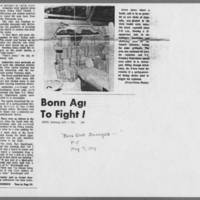 "1971-05-07 Iowa City Press-Citizen Article: """"Bomb Blast Damages Iowa City Civic Center"""" Page 3"