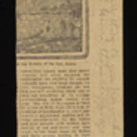 """1918-09-05 Clipping from The Sentinel, """"""""The Boys in Service"""""""" Page 2"""