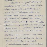 1942-02-03 Lloyd Davis to Laura Davis Page 1
