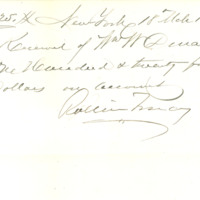 Thomas C. Durant estate correspondence, 1885-1910