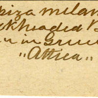 Clinton Mellen Jones, egg card # 493