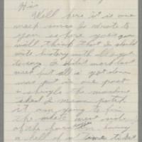 1942-07-26 George Davis  to Lloyd Davis Page 1