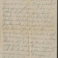 1918-05-16 Harvey Wertz to Miss Eloise Wertz Page 2