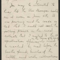 State organization correspondence, 1917-1919