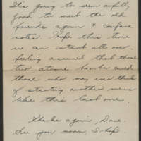 1945-08-15 M/Sgt. Daryl L. Fetters to Dave Elder Page 2