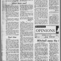 "1970-05-13 Daily Iowan Editorial: """"Strike!"""" Page 3"
