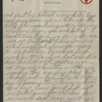 1918-01-27 Harvey Wertz to Eloise Wertz Page 2