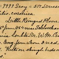 Clinton Mellen Jones, egg card # 543