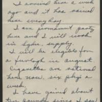 1945-06-08 Cpl. Leighton Edmondson to Dave Elder Page 1