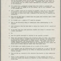 1970-05-12 University Memo regarding Student Options during Unrest Page 2