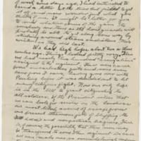 1918-05-16 Robert M. Browning To Dr. Mabel C. Williams Page 1