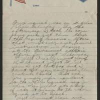 1918-05-19 Thomas Messenger to Mr. & Mrs. N.H. Messenger Page 2