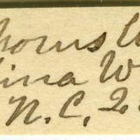 Clinton Mellen Jones, egg card # 663