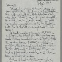 1945-07-06 Laura Davis to Lloyd Davis Page 1