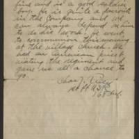 1918-04-25 Harvey Wertz to Mrs. L.A. Wertz Page 4
