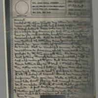 1943-04-13 Laura Davis to Lloyd Davis Page 1