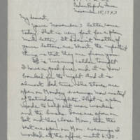 1943-11-15 Laura Davis to Lloyd Davis Page 1