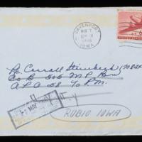 1946-03-06 Evelyn Burton to Carroll Steinbeck - Envelope