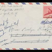 1945-11-15 Carroll Steinbeck to Evelyn Burton - Envelope