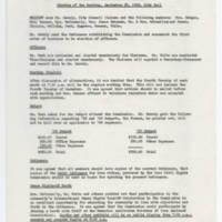 1968-09-25 Burlington Human Rights Commission, Minutes Page 1