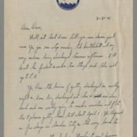 1946-02-21 Dave Neiswanger to Dave Elder Page 1
