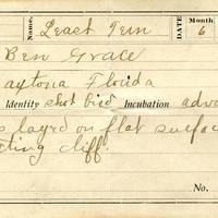 Ben Grace, egg card # bg002u