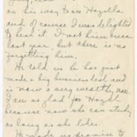 1918-02-25 Daphne Reynolds to Conger Reynolds Page 2