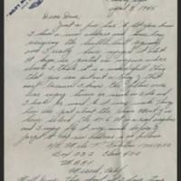 1945-04-08 Milo F. Ralston to Dave Elder