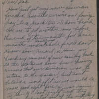 1918-05-24 Harvey Wertz to Mr. L.A. Wertz Page 1