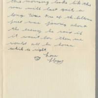 1942-08-03 Lloyd Davis to Laura Davis Page 3