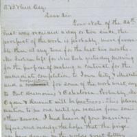 Peter A. Dey correspondence, 1855-1864