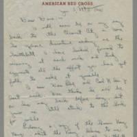 David R. Elder correspondence, January-April 1946