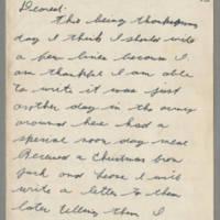 1943-11-25 Lloyd Davis to Laura Davis Page 1