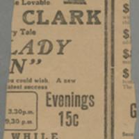 "1916-08-29 Cedar Rapids Evening Gazette Clipping: """"Iowa Man Returns From War Zone"""" Page 2"
