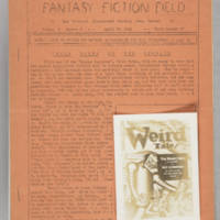 Fantasy Fiction Field, v. 2, issue 5, whole no. 28, April 26, 1941