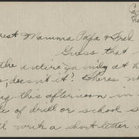 1918-02-13 Thomas Messenger to Mr. & Mrs. N.H. Messenger Page 1