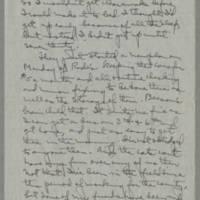 1943-03-03 Laura Davis to Lloyd Davis Page 2