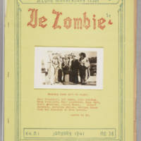 Le Zombie, v. 4, issue 1, whole no. 36, January 1941