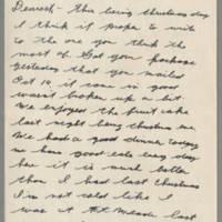 1943-12-25 Lloyd Davis to Laura Davis Page 1