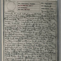 1943-06-18 Laura Davis to Lloyd Davis Page 1