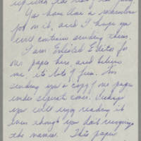 1945-08-23 Margaret J. Hanson to Mr. Dave Elder Page 2